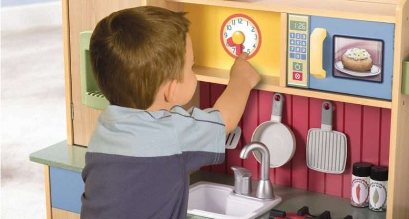 Little Tikes Wood Home Kitchen Offers Everything Your