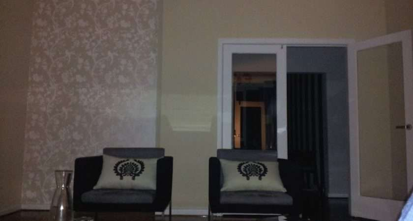 Living Room Alcove After