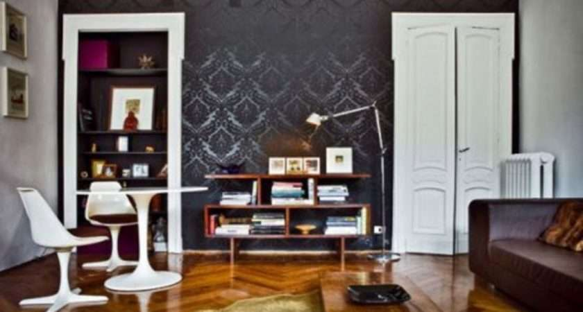 Living Room Black Decor Decorating