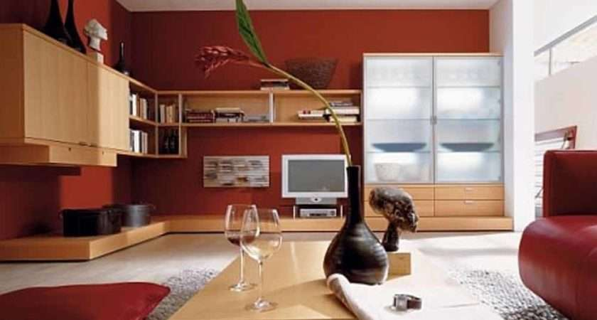 Living Room Color Schemes Hulsta Red Colour