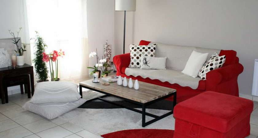 Living Room Decorating Color Schemes Rooms Red