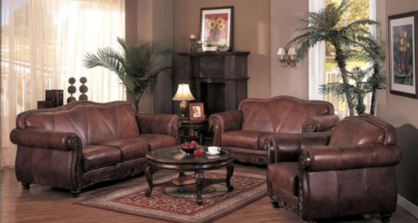 Living Room Decorating Ideas Brown Leather Furniture