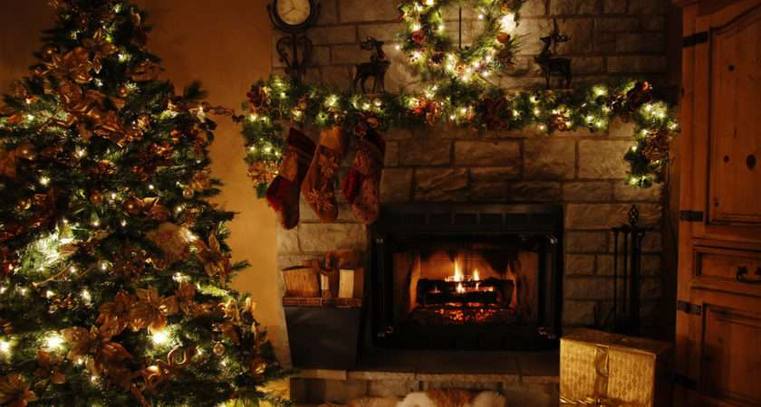 Living Room Designs Extraordinary Christmas Themed