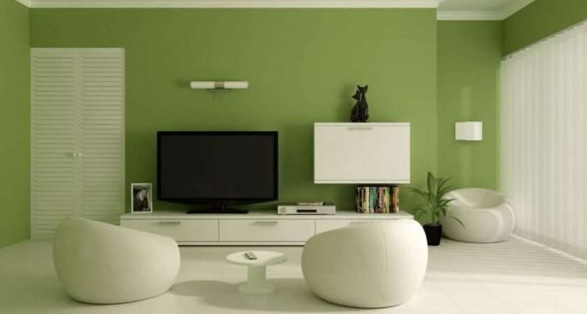 Living Room Green Paint Ideas Inspired Home Designs