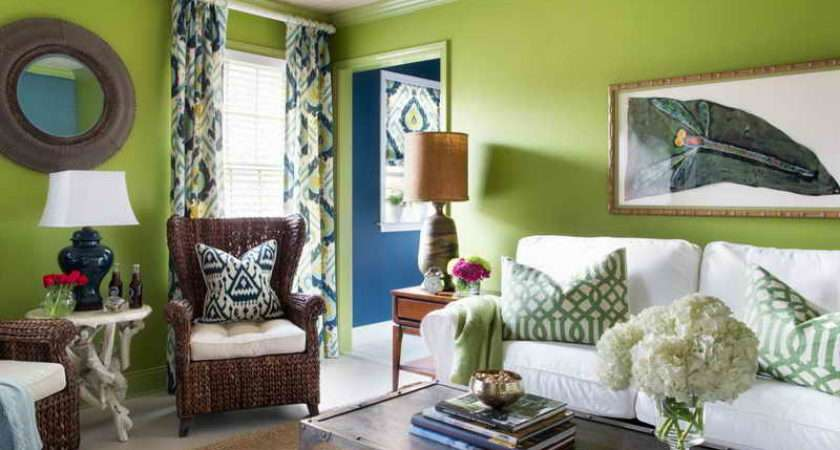 Living Room Ideas Green Grey Lime