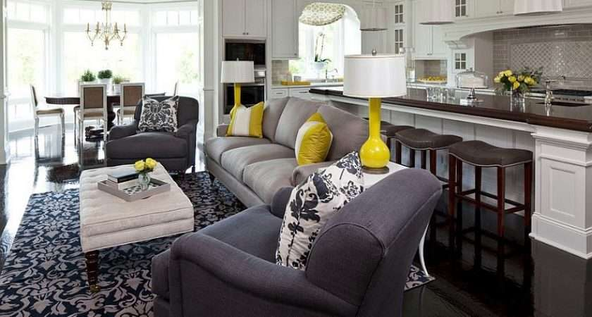 Living Room Kitchen Dining Space Just Gorgeous