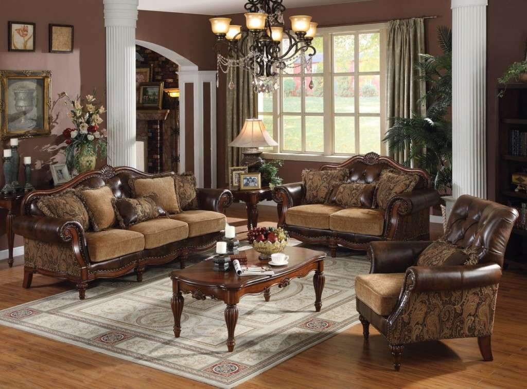Living Room Set Western Style Modern Interior Design Ideas
