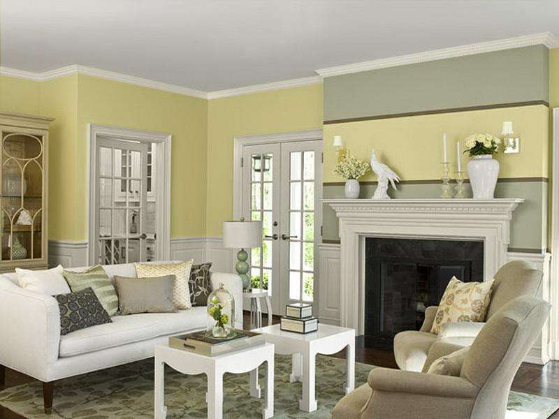 Living Rooms Bright Warm Yellow Color Schemes