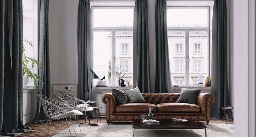 Living Rooms Brown Sofas Tips Inspiration
