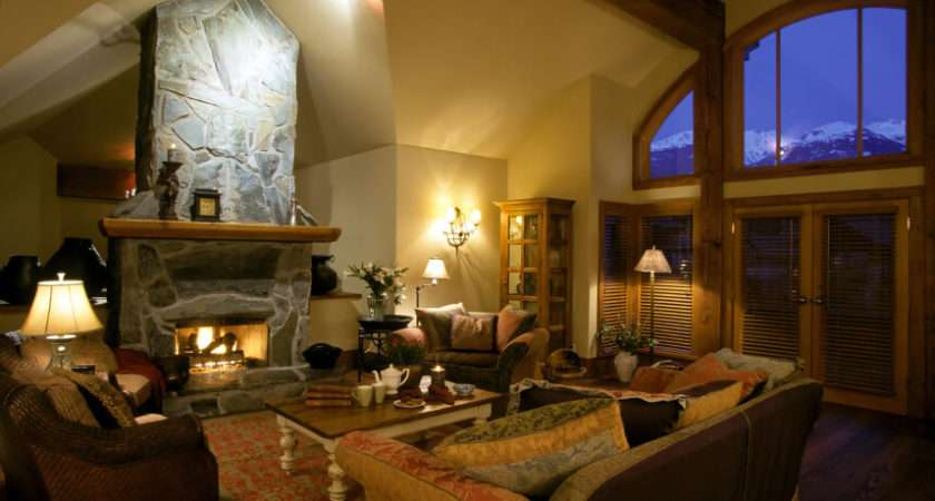 Living Rooms Cozy Fireplaces Guide Much They