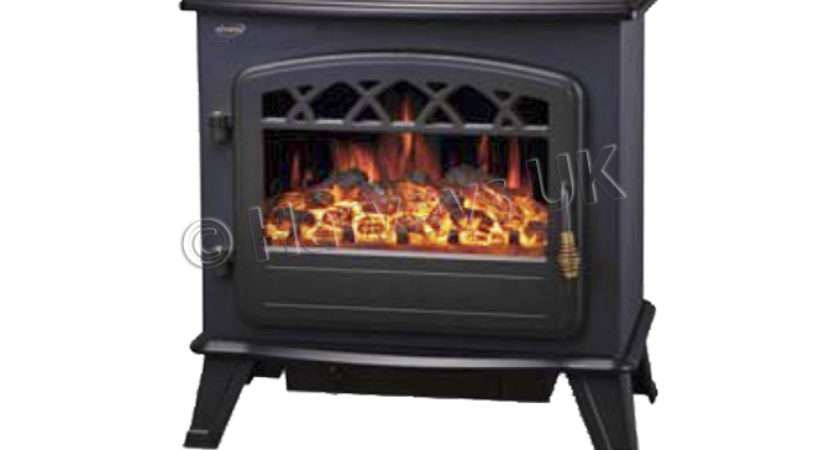 Log Burning Flame Effect Stove Heater Electric Fire Fireplace Fan New
