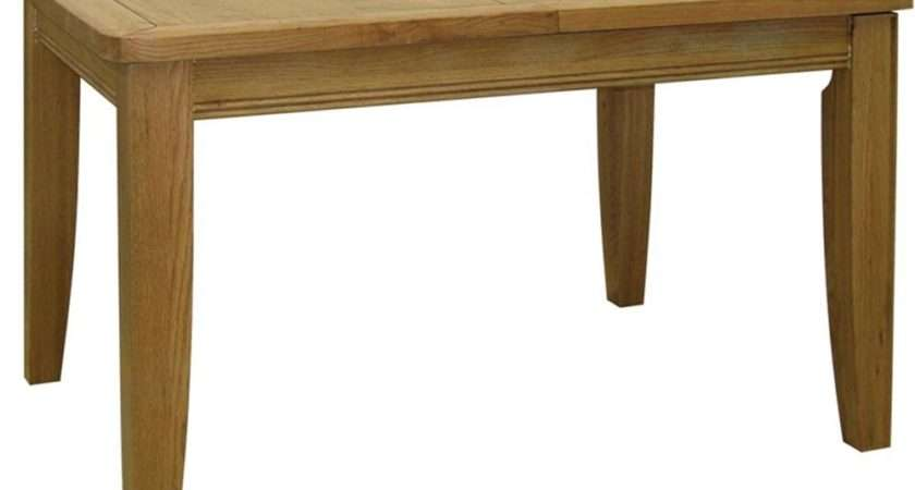Loire French Solid Oak Extending Dining Table Internet
