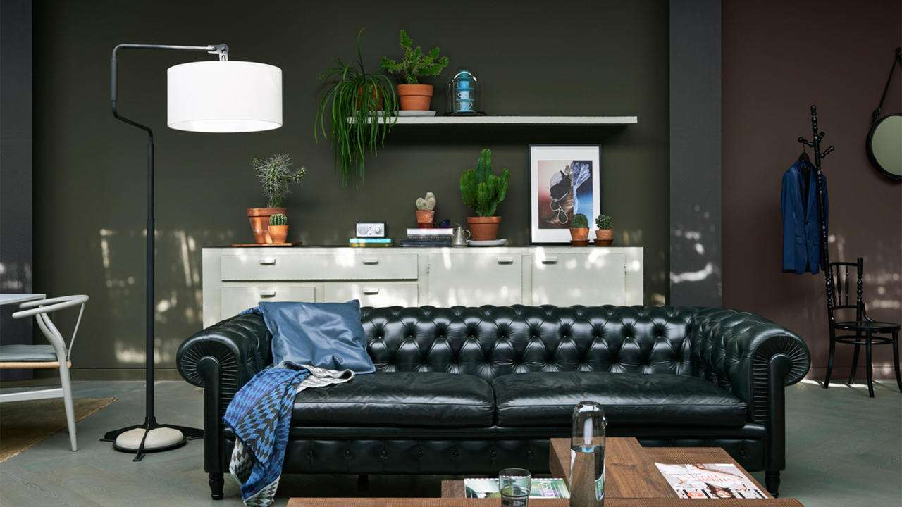 Looking Give Your Living Room Edge Take Inspiration