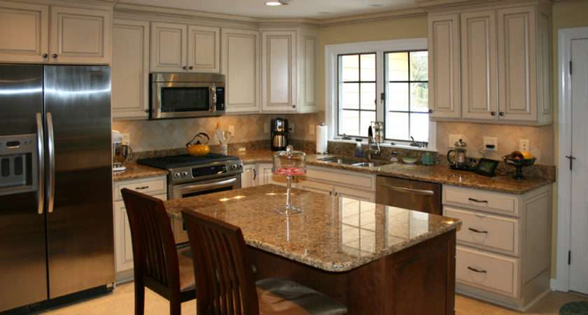 Louis Kitchen Cabinets Remodeling Painted Glazed