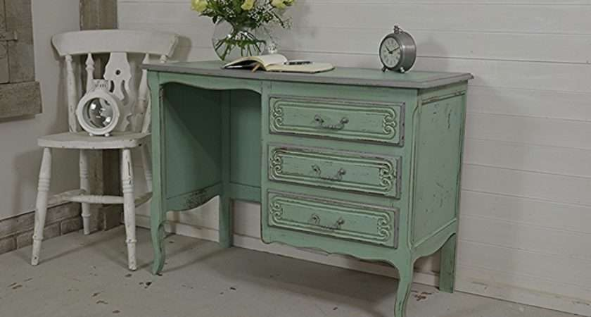Louis Style French Shabby Chic Desk Tables