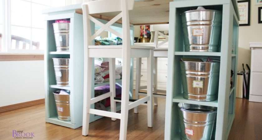 Love Open Shelves Perfect Storing Fabric Been
