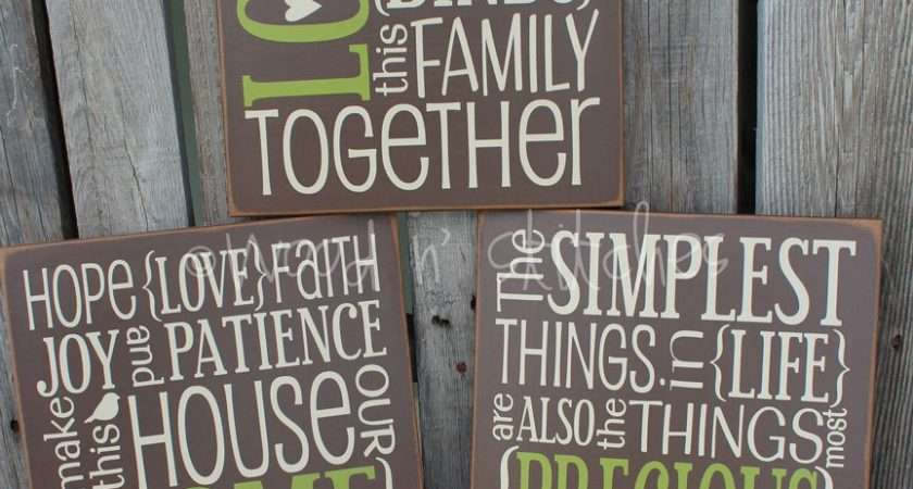 Love Wooden Sign Quotes Quotesgram