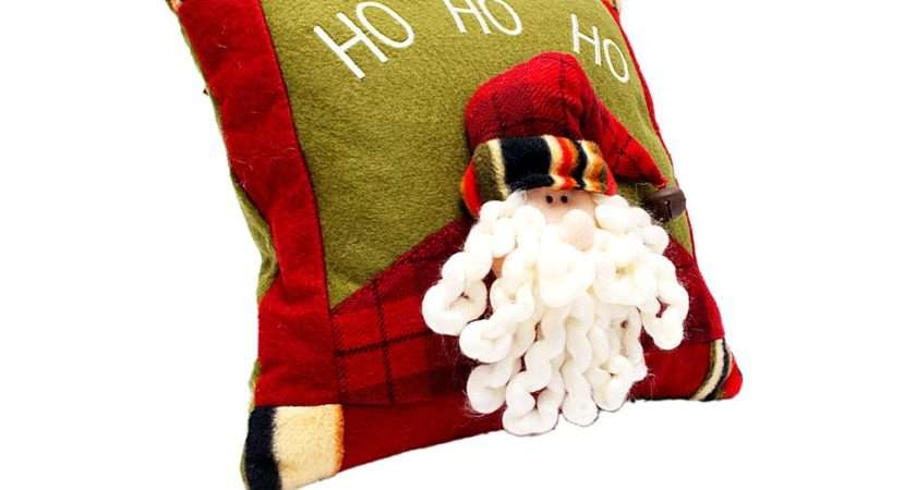 Lovely Christmas Xmas Santa Throw Pillow Buy Lowest Prices