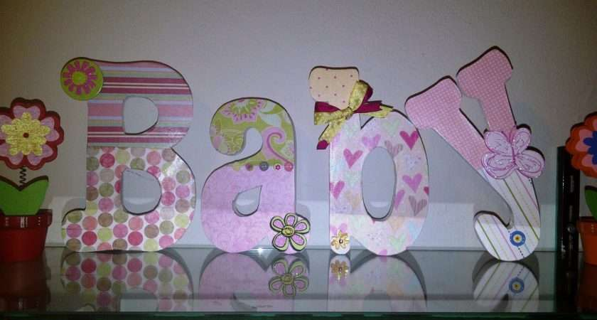 Lucky Girl Diy Decorate Wooden Letters