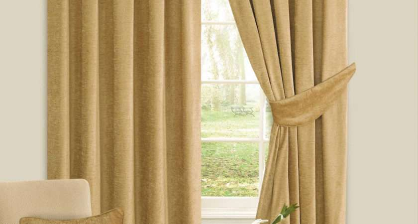 Luxury Chenille Ready Made Curtains Century Textiles