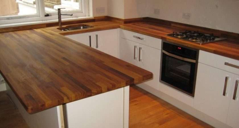 Luxury Iroko Worktops Top