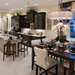 Luxury Kitchens Dark Cabinets Design Ideas