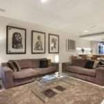 Luxury Warm Living Room Style Brown Color Looks