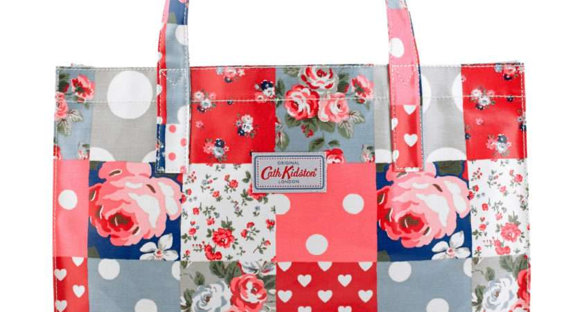 Lyst Cath Kidston Carry All Patchwork Bag Blue