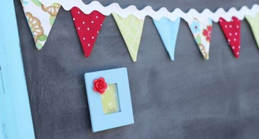 Make Bunting Pictured Tutorial