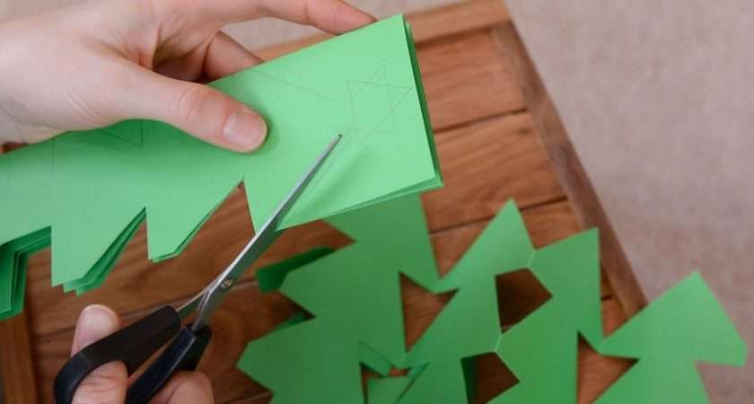 Make Christmas Crafts Out Paper Homeminecraft