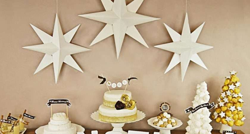 Make Christmas Paper Star Decorations Easy Crafts