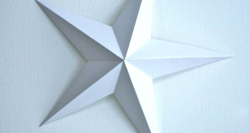 Make Christmas Star Out Paper Imgkid