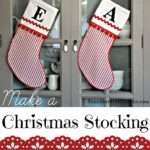 Make Christmas Stocking Fox Hollow Cottage