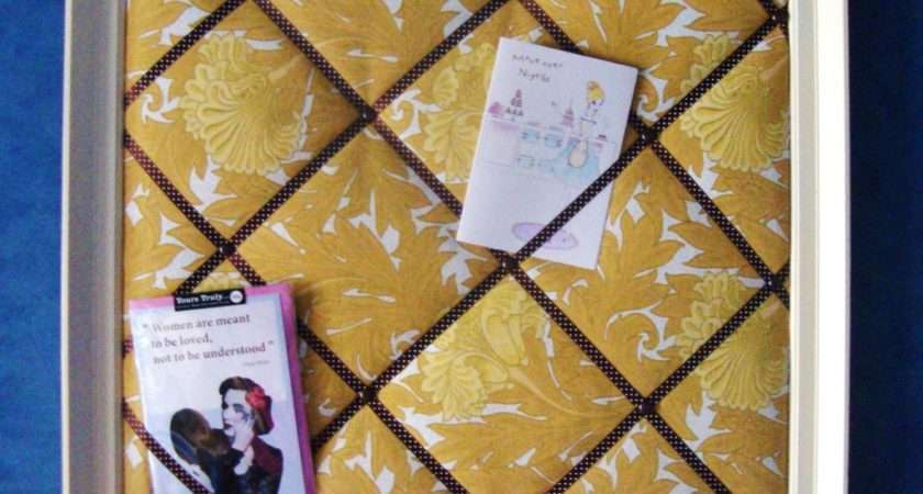 Make Fabric Notice Board Guest Post Red