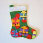 Make Felt Applique Christmas Stocking