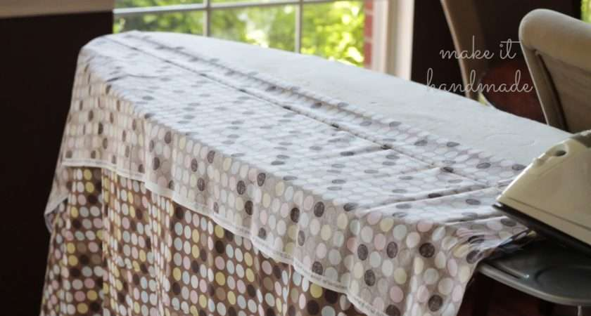 Make Ironing Board Cover Minutes Without Flipping Tracing