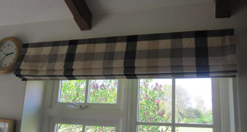 Make Lined Roman Blinds