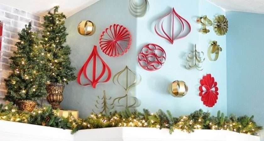 Make Paper Christmas Ornaments All Things Thrifty