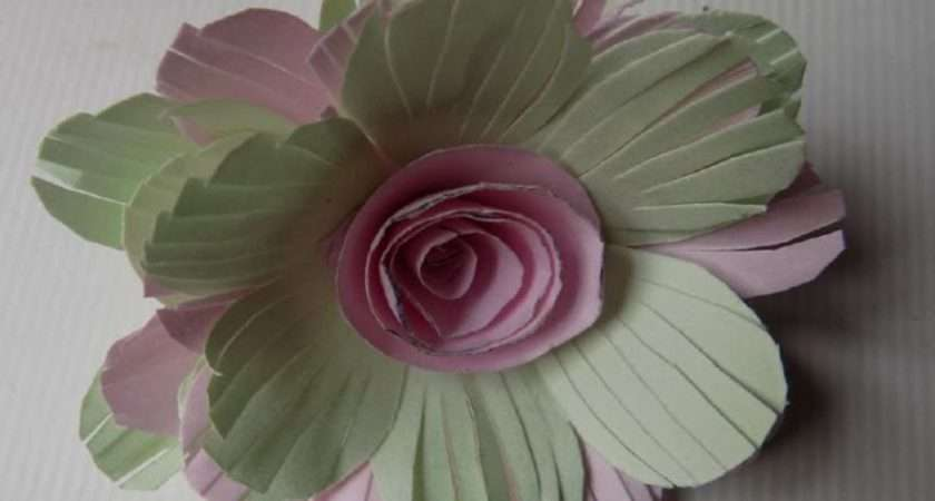 Make Paper Flowers Home Step Easy Colour