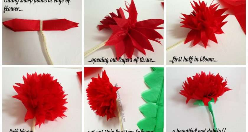 Make Paper Flowers Step Easy Classroom Decor Your