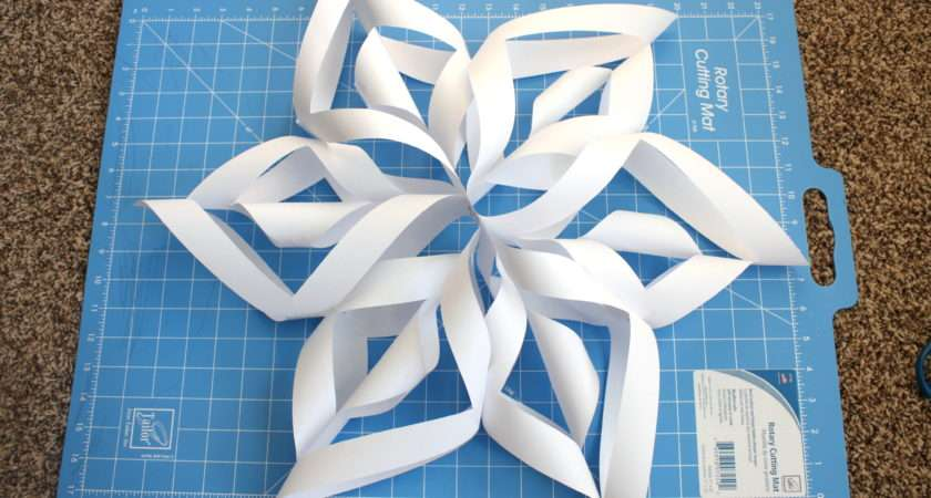 Make Paper Snowflake Events Celebrate