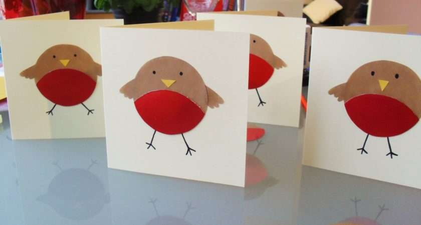 Make Perri Has Also Been Making Her Christmas Cards
