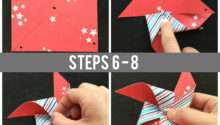 Make Pinwheel Paper Scraps Tutorial