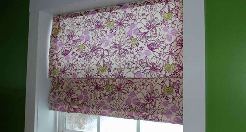 Make Roman Shades Easy Your Own Room