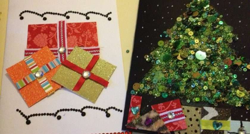 Make Your Own Christmas Cards Boy Asperger