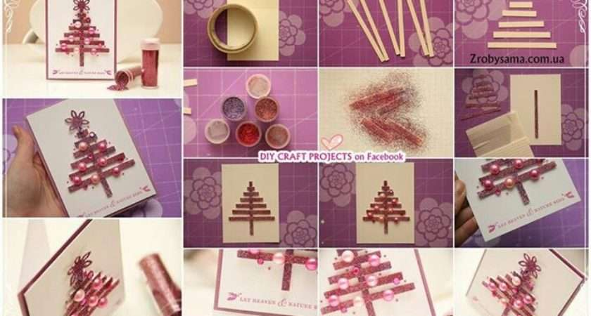 Make Your Own Christmas Cards Diy Crafts Love Pinterest