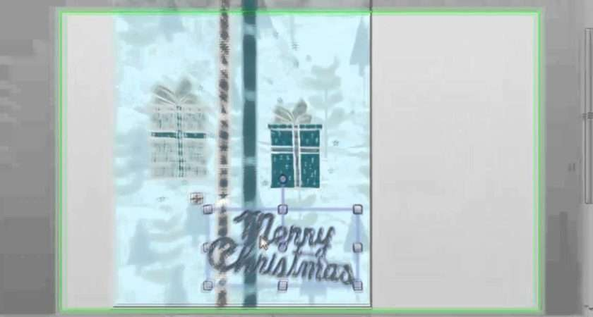 Make Your Own Christmas Cards Youtube