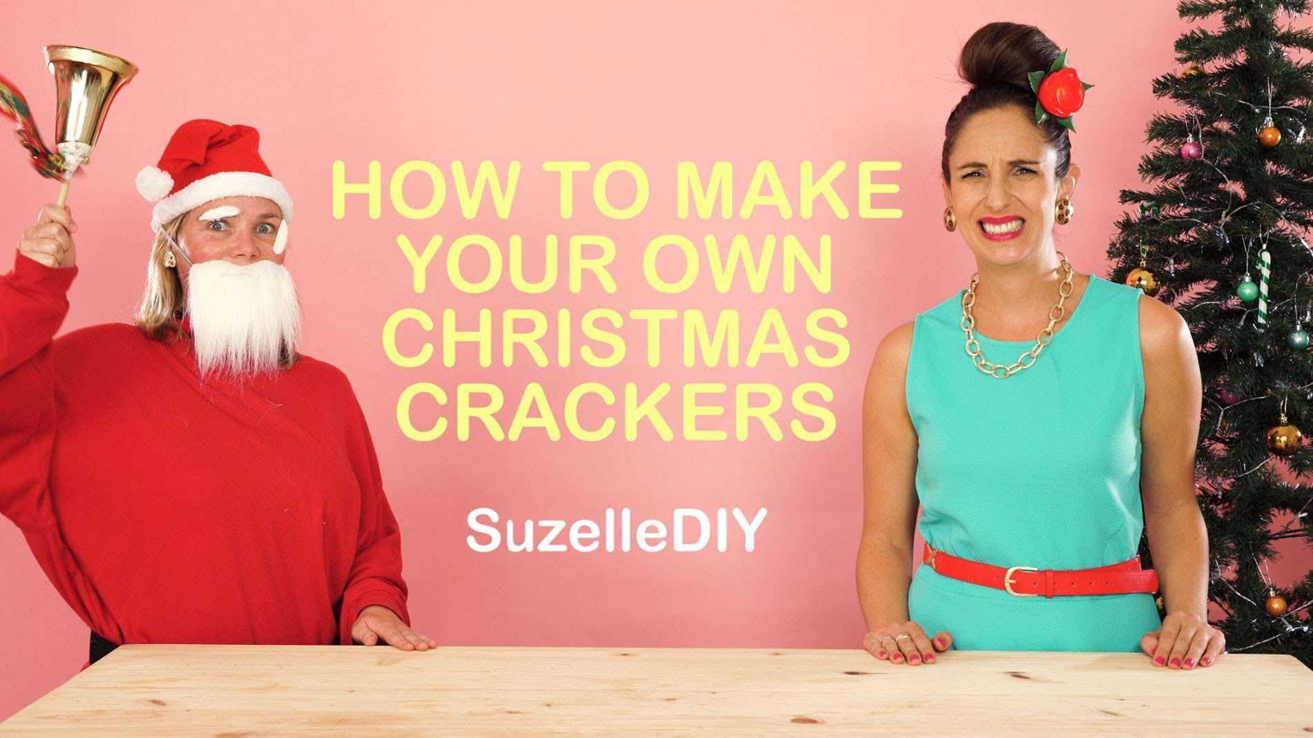 Make Your Own Christmas Crackers Expressions