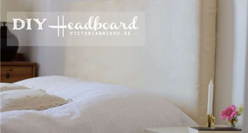 Make Your Own Headboard Diy Pinterest