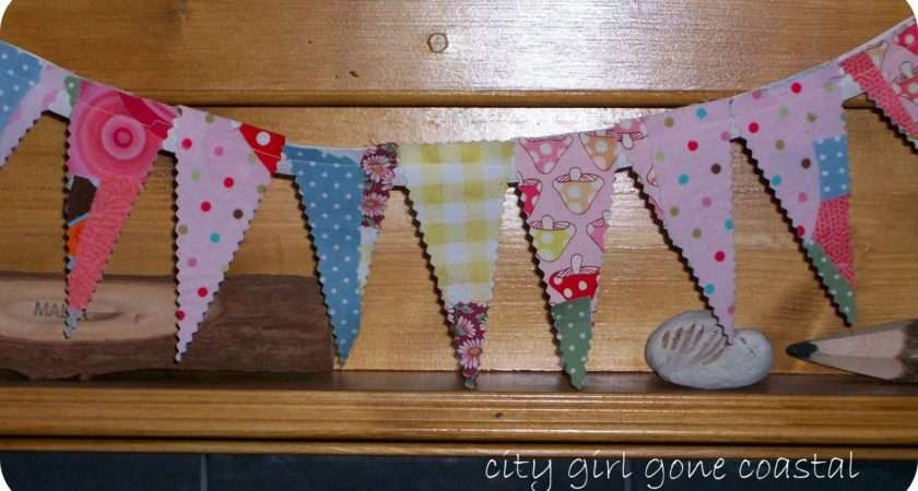 Make Your Own Scrappy Bunting Need Get Together